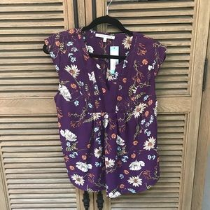 Collective Concepts Cap Sleeve Shirt, Small, NWT